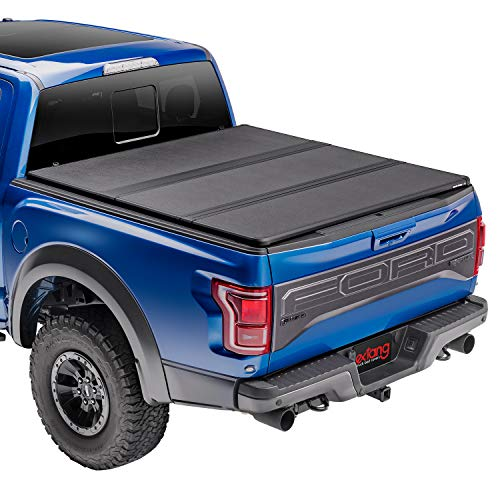 Extang Solid Fold 2.0 Hard Folding Truck Bed Tonneau Cover | 83701 | Fits 2016-20 Nissan Titan XD w/rail system 6'6' Bed
