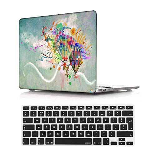 NEWCENT MacBook Pro 15' Funda,Plástico Ultra Delgado Ligero Cáscara Cubierta EU Teclado Cubierta para MacBook Pro 15 Pulgadas con Touch Bar Touch ID 2016-2018 Versión(Modelo:A1707/A1990),Creativo 22