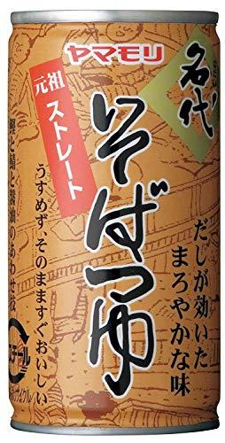 ヤマモリ 名代そばつゆ 缶195g ×15本