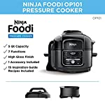 Ninja Foodi 7-in-1 Pressure, Slow Cooker, Air Fryer and More, with 5-Quart Capacity and 15 Recipe Book Inspiration Guide…