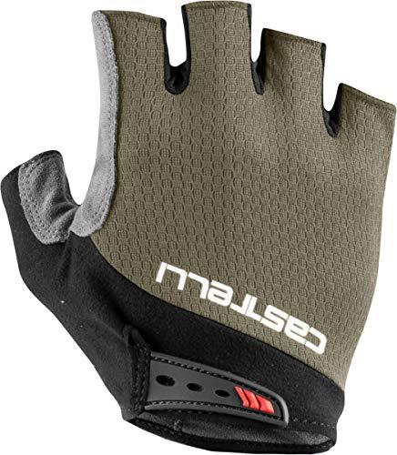 CASTELLI 4521075-364 Entrata V Glove Guantes Ciclismo Hombre Bark Green M