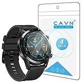 CAVN Protector de Pantalla Compatible con Huawei Watch GT2 46mm (no para GT 2 Pro), 4 Unidades...