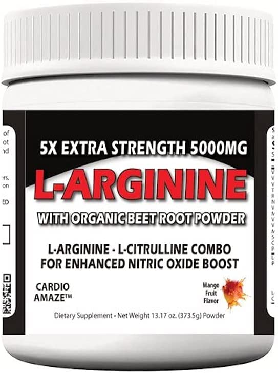 5X List price Extra Strength L-Arginine 5000mg All items in the store Muscle Workout Powde Build
