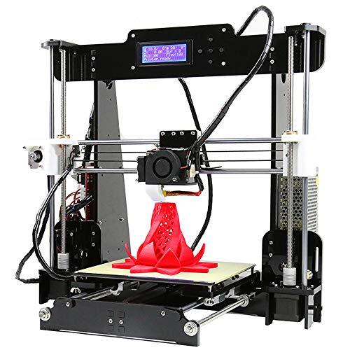 ZJSWC Imprimante 3D, Grande Taille d'impression d'une Extrudeuse De Mise À Niveau Automatique Assistée par Imprimante 3D, 500 * 400 * 450MM, Fonctionne avec du PLA, TPU, ABS, Hanches, Bois