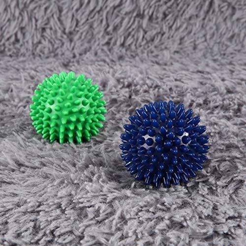 Munsif Ali PVC High Density Spiky Massageball Fußschmerzen & Plantarfasziitis Reliever Behandlung Hedgehog Ball Massage Akupressurball