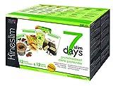 Kineslim Coffret Minceur 7 Slim Days Cure Minceur 7 Jours avec Repas/Barres Protéinées/Programme Semaine Régime 12 Repas/12 Barres 1 Unité