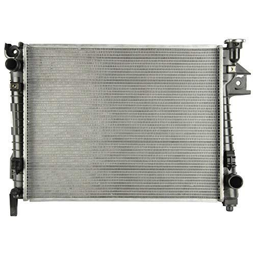 Klimoto Radiator | fits Dodge Ram 1500 2500 3500 2004-2009 5.7L V8 2 Row |Replaces CH3010301 55056481AB 55056682AB