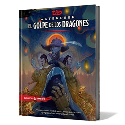 Dungeons & Dragons Golpe de los Dragones, Color (EEWCDD08)