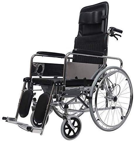 Industry No. 1 XUXUWA Foldable Portable Transport Wheelchair Bombing new work Backrest Tiltable