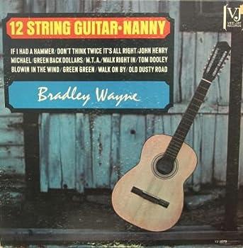 BRADLEY WAYNE - 12 string guitar-nanny VEE-JAY 1079  LP vinyl record