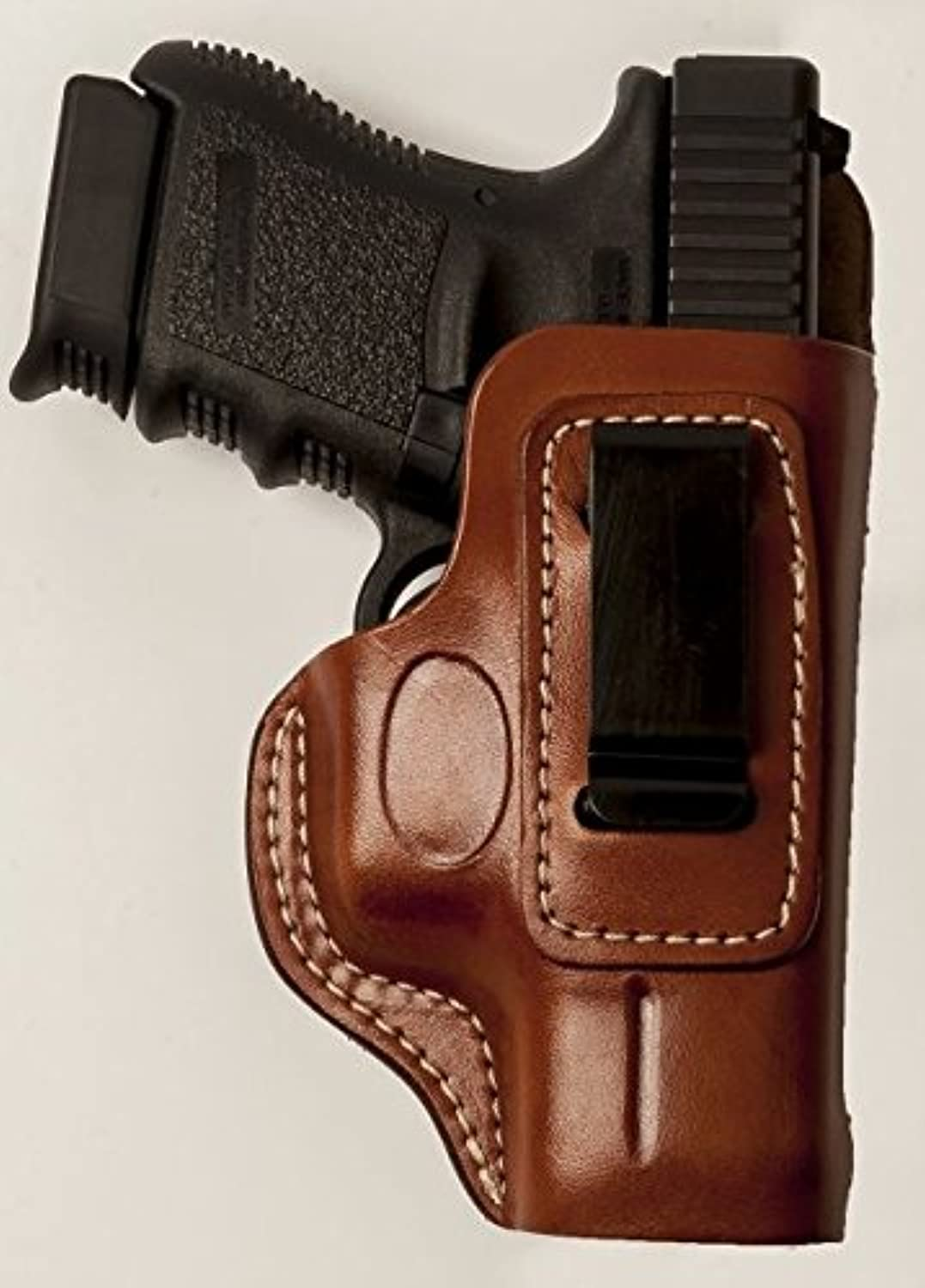 Cebeci 20797RT04 RightHand Leather IWB Comfort Tab 20797 Holster Gun Belt, Tan, 4.5
