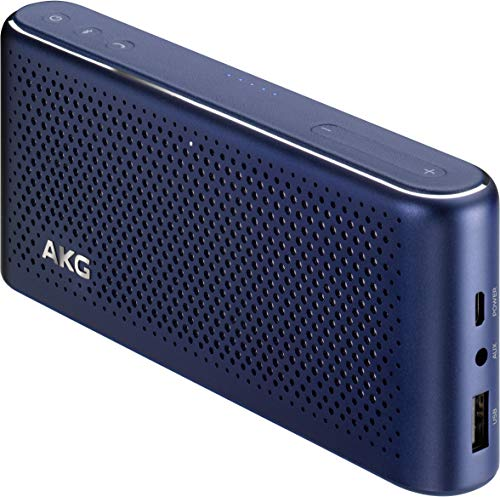 AKG \'S30\' Bluetooth-Lautsprecher mit integrierter Powerbank, Meteor Blue
