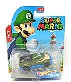 Hot Wheels Super Mario Character Cars Luigi Vehicle 2/7