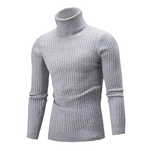 U/A Hombres Suéter Casual Slim Fit Prendas de punto