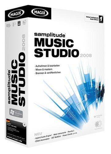 MAGIX Samplitude Music Studio 2008