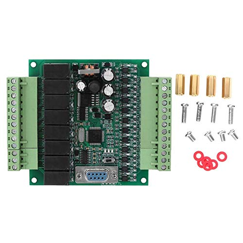 Busirsiz Programmable Controller PLC Industrial FX1N 20MR For Automatic Control DC 22V-28V Relay Controller Module