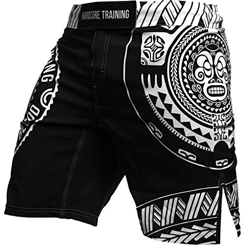 Hardcore Training Recruit Homme Combat Shorts Arts Martiaux MMA BJJ Fitness Muay Thai Boxe Grappling No Gi