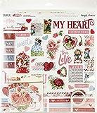 SIMPLE STORIES ESS KIT COLLECTORS, Simple Vintage My Valentine