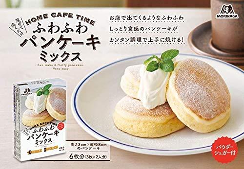 森永ふわふわパンケーキミックス170g×6箱