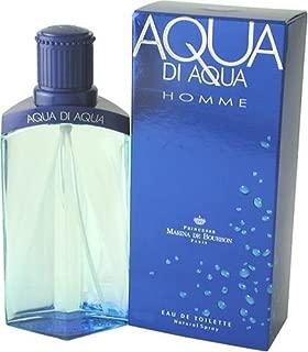 Aqua Di Aqua By Marina De Bourbon For Men. Eau De Toilette Spray 3.3 Ounces