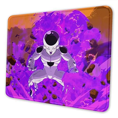 Dragon Ball Super Frieza Alfombrilla de ratón para juegos de ordenador portátil, bordes cosidos para oficina, ideal para ratón, 7.9 x 9.5 pulgadas