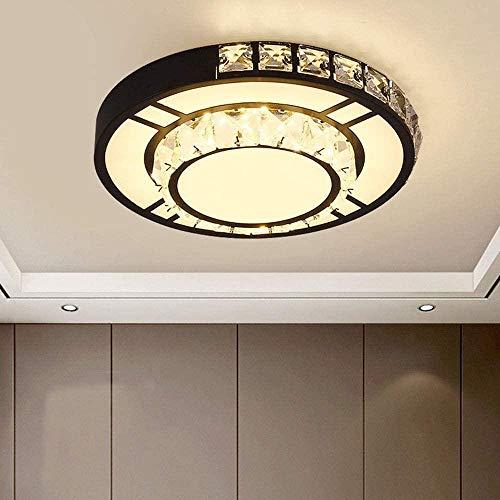 Lámpara Colgante Duradera LED De Cristal LED Moderno Lámpara De Techo Lobby Corredor De Entrada Balcón Lámpara Colgante Hyococ