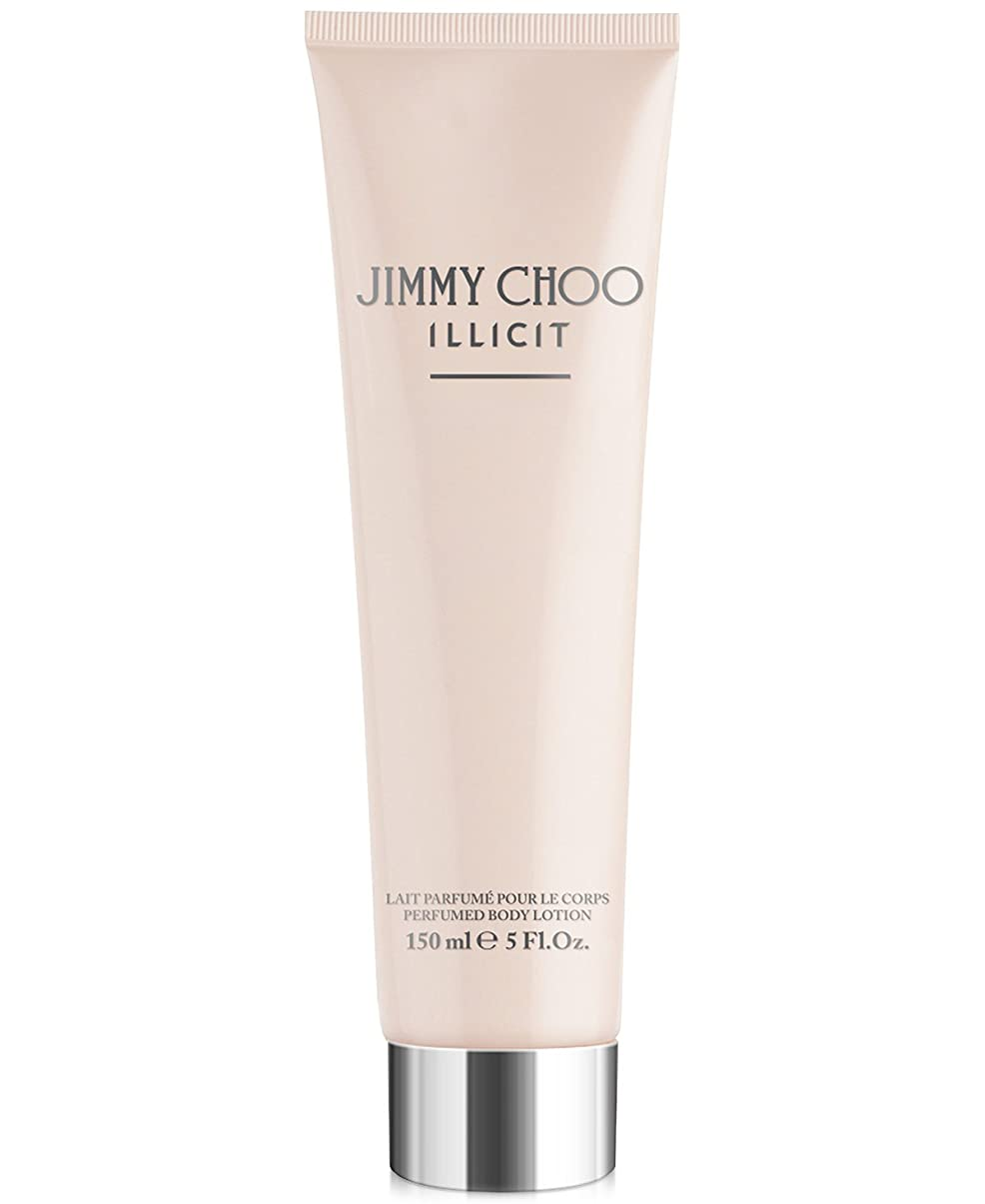 以来完璧なディレクターJimmy Choo Illicit (ジミー チュー イリシット) 5.0 oz (150ml) Body Lotion for Women