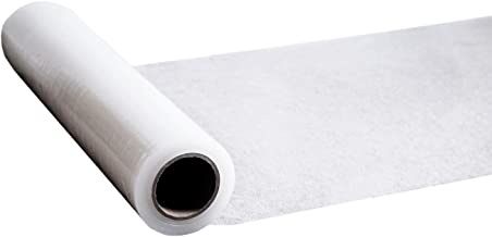 25m roll clear polythene self adhesive carpet protector film, FREE Express Delivery