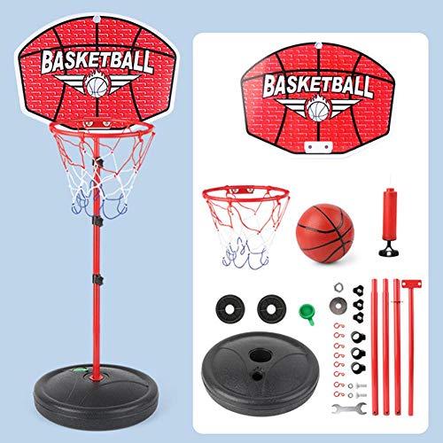Korbanlagen Transportabel Basketballkörbe Basketball Hoop Stand Höhenverstellbar 60-150cm Mini Wall Basketball, Mit Ball Pump Indoor Und Outdoor Fun Spielzeug Für 2+ Jahre Alt
