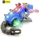 Zest 4 Toyz Realistic Design Mechanical Robotic Dragon Toy, Walking Dragon Dinosaur Toy