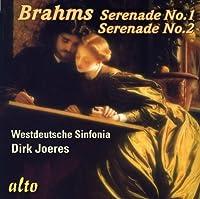 Brahms: Serenades Nos. 1 & 2 for Orchestra by Westdeutsche Sinfonia (2010-11-22)