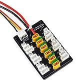 Connettori XT30 di alta qualità Supporta la carica di bilanciamento delle batterie XT30 / JST 2S o 3S LiPo , 6 batterie LiPo 1S, 6 batterie LiPo 2S, 6 batterie LiPo 3S. Addensare la lamina di rame PCB, garantire la sicurezza utilizzando una ricarica ...