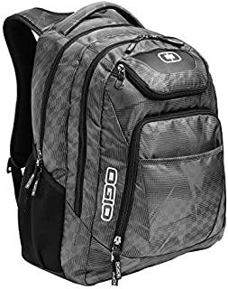 "OGIO 411069-SILVER Business Excelsior 17"" Laptop Backpack/Rucksack, Race Day/Silver"