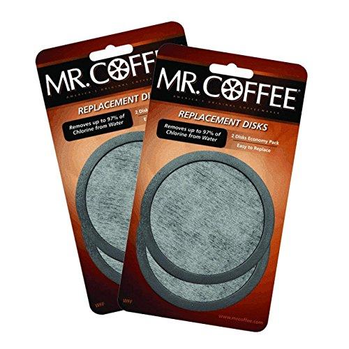 Sunbeam 2 X Mr. Coffee Water Filter Replacement 2pk