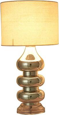 Minisun - Lámpara de Mesa Táctil Moderna Cromada – Base de Esferas ...