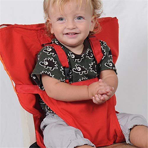 Best Price! Portable Baby High Chair for Travel, Travel High Chair for Infant Toddler Feeding, Safe ...