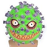 thematys Bakterium Maske in 7 verschiedenen Designs - perfekt für Fasching, Karneval & Halloween -...