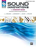 Sound Innovations for Concert Band, Bk 1: A Revolutionary Method for Beginning Musicians (Conductor's Score), Score, CD & DVD