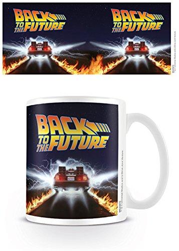 Pyramid International Back TO The Future (Delorean) Mug, Ceramica, Multicolore, Unica