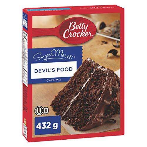 Betty Crocker Devil's Food Super Moist Cake Mix, 432 Gram