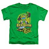 Transformers Boulder Unisex Toddler T Shirt for Boys and Girls, Large (4T) Kelly Green