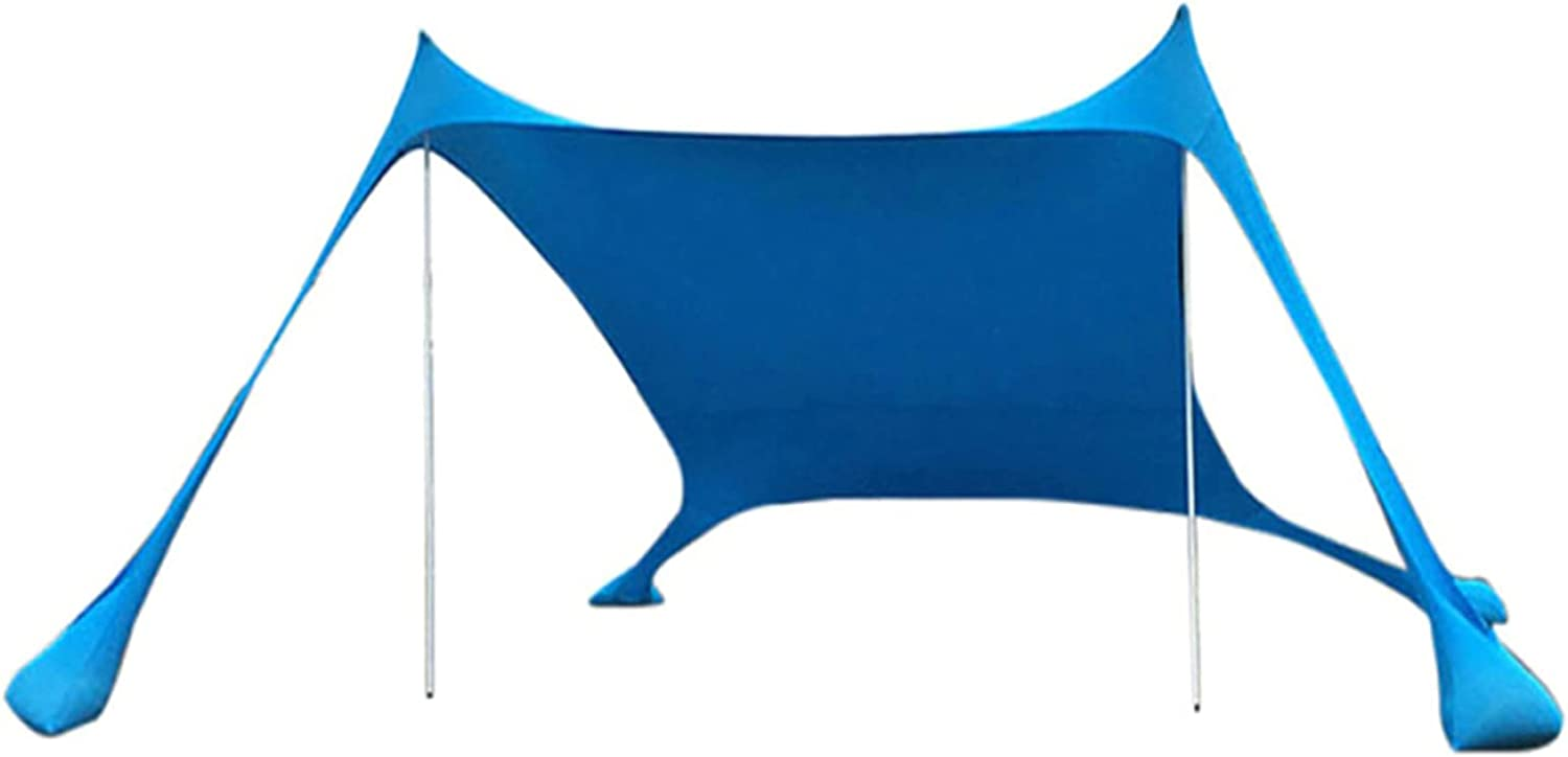 Beach Tent Max 61% OFF Sun Shade Shelter Ca one-Piece Minneapolis Mall Portable Outdoor