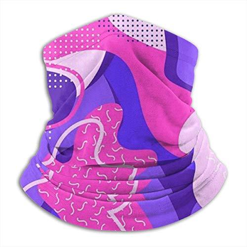 Linger In Bizarre World Neck Gaiter Neck Warmer Décorations faciales Bandana Headwear