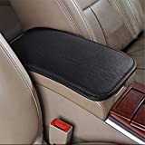 LKXHarleya Car Center Console Cover, Universal Car Armrest Cover, PU Leather Auto Arm Rest Cushion Pads, Center Console Armrest Protector, Fit for Most Vehicle, SUV, Truck Car Accessories