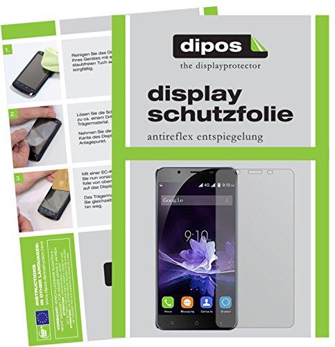 dipos I 6X Schutzfolie matt kompatibel mit Blackview P2 Folie Bildschirmschutzfolie