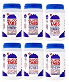 Lift Glucose Chewable Tablets, BLUEBERRY, 6 jars/tubs (50 tablets per tub)