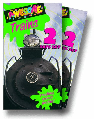 Awesome Trains 1 & 2 [VHS]