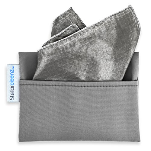 Stellarcleenz - Natural, Chemical Free, 99.99% Pure Silver Sanitizer (1-10 inch square)