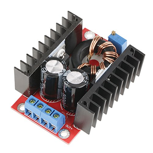 Módulo convertidor elevador DC-DC 150W 12-32V a 12-35V Módulo elevador de fuente de alimentación de voltaje ajustable convertidor elevable