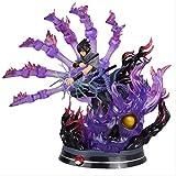 SXXYTCWL Ltong Naruto Six canaux Uchiha Sasuke Action Figure Modèle...